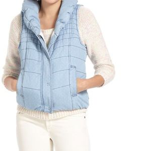 Anthro Daughters of Liberation Chambray Vest